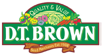D.T. Brown Seeds Promo Code