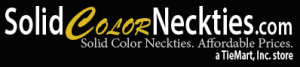 Solid Color Neckties Promo Code